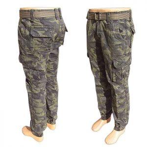 2bae51bd4815 Maskáčové nohavice pánske LOSHAN army green. army shop